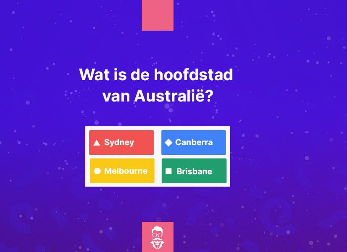 Quiz Maestro Quiz Vraag